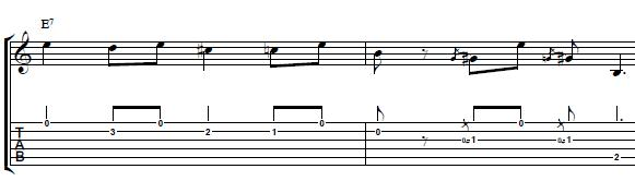 Blues-Guitar-Lesson-Blues-Turnaround-in-the-Style-of-Dickey-Betts-Rhythm-Guitar
