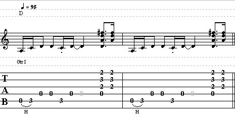 Allman Brothers´s Midnight Rider Guitar Chords