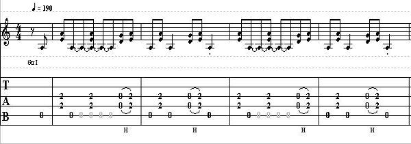 Guitar Lesson on Rock Riffing with a Country Vibe in the Key of A