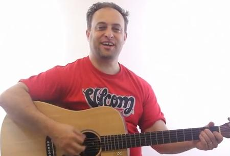 acoustic guitar lesson - chords for beginners