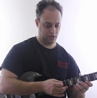 how to shred with finger tapping technique