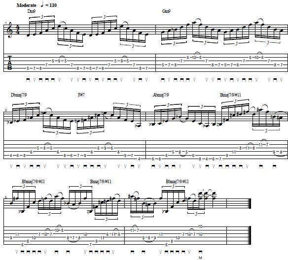 Alternate-and-Sweep-Picking-Technique-Guitar-Lick-Shred-Guitar-Lesson