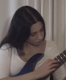 A-Minor-Arpeggio-with-Tapping-Technique--Electric-Guitar-Lesson