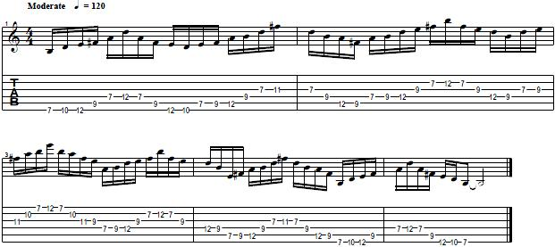 Pentatonic-Scale-Pattern-with-Economy-Picking--Lead-Guitar-Lesson
