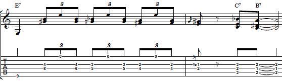 Blues-Turnaround-Lick-in-E-Rhythm-Guitar-Lesson