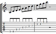 How-to-Play-the-Riff-from-Come-Together-by-The-Beatles-Rhythm-Guitar-Lesson