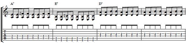 Rhythm-Blues-Lesson-Learn-How-to-Play-an-8-Bar-Blues-Chord-Progression1