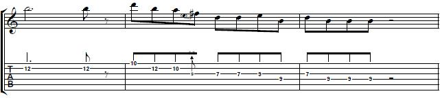 The-Thrill-is-Gone-Blues-Guitar-Lick-Blues-Guitar-Lesson