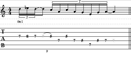 Easy Blues Guitar Lick in A – Blues Guitar Lesson