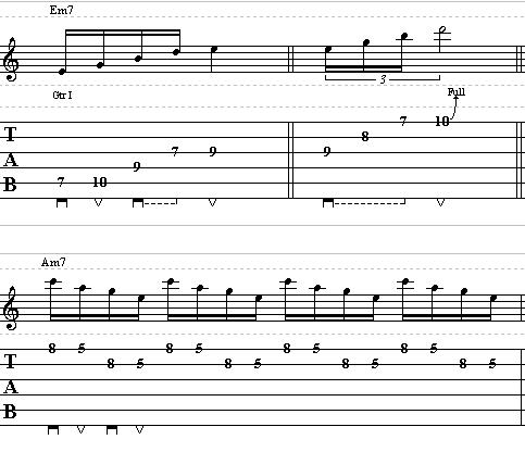 Guitar Lesson on How to Use Arpeggios in your Soloing