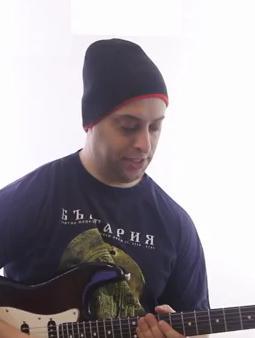 Classic Blues Shuffle Rhythm - Blues Guitar Lesson on Shuffle Rhythm