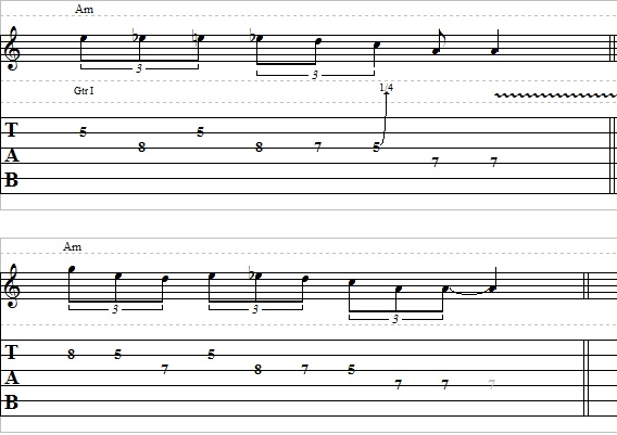 How to Spice Up a Pentatonic Scale – Lead Guitar Lesson on Pentatonic Scales