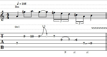 Cool Lead Melodic Guitar Lick – Lead Guitar Lesson