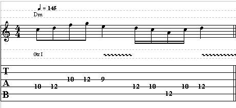 Easy Dorian Guitar Lick in D – Lead Guitar Lesson on Dorian Licks