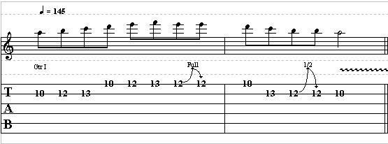 Easy Minor Guitar Lick with Bends & Vibrato – Lead Guitar Lesson