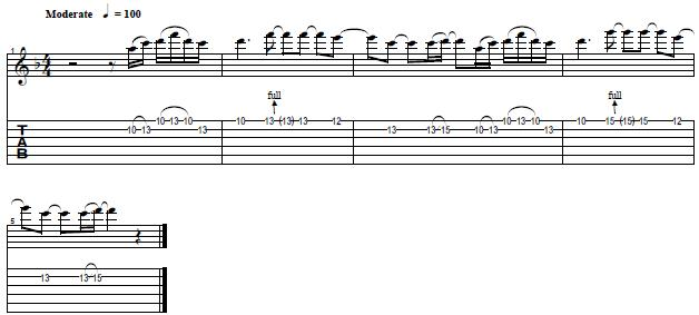 Learn How to Play Layla by Eric Clapton -- Easy Lead Guitar Lesson - Part 2