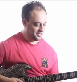 Easy Guitar Lick with Legato - Lead Guitar Lesson on Melodic Licks
