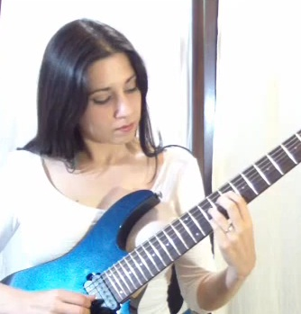 Rhythm Guitar Lesson - How to Play Open Triads in C major -