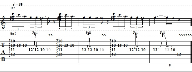 Easy Blues Guitar Lick in the Style of Jimi Hendrix