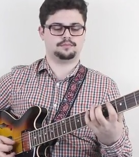 Learn How to Play Warm Up Exercise on Guitar Pic
