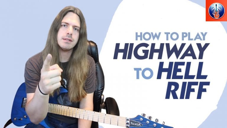 Highway to Hell Guitar Lesson