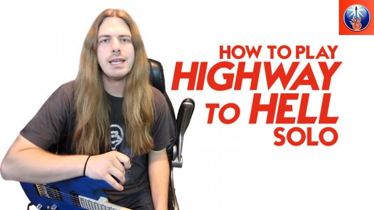 How to Play Highway to Hell Solo